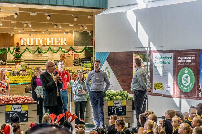 Woolworth Butler opening ceremony