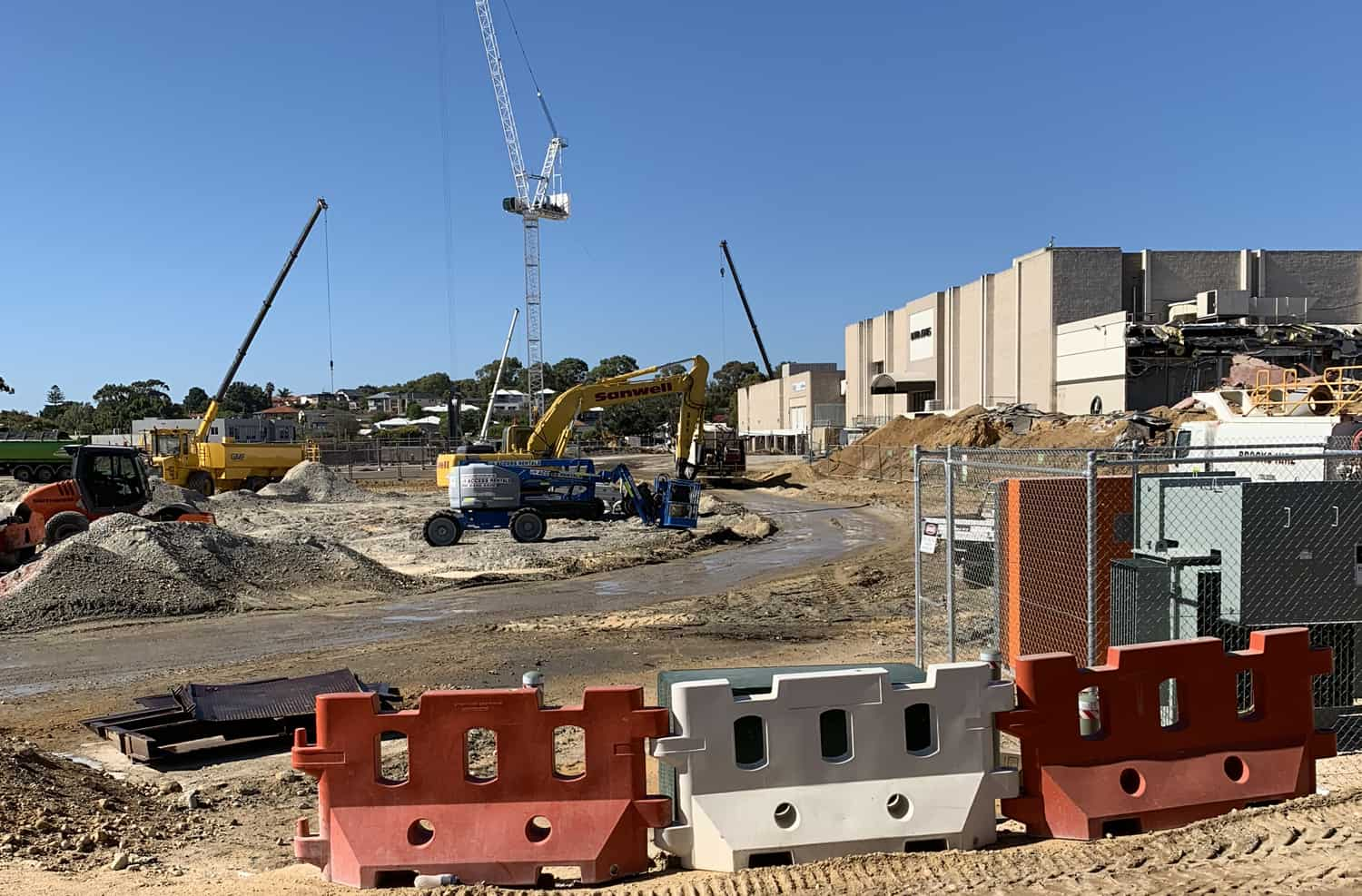 Karrinyup Shopping Centre Construction Site