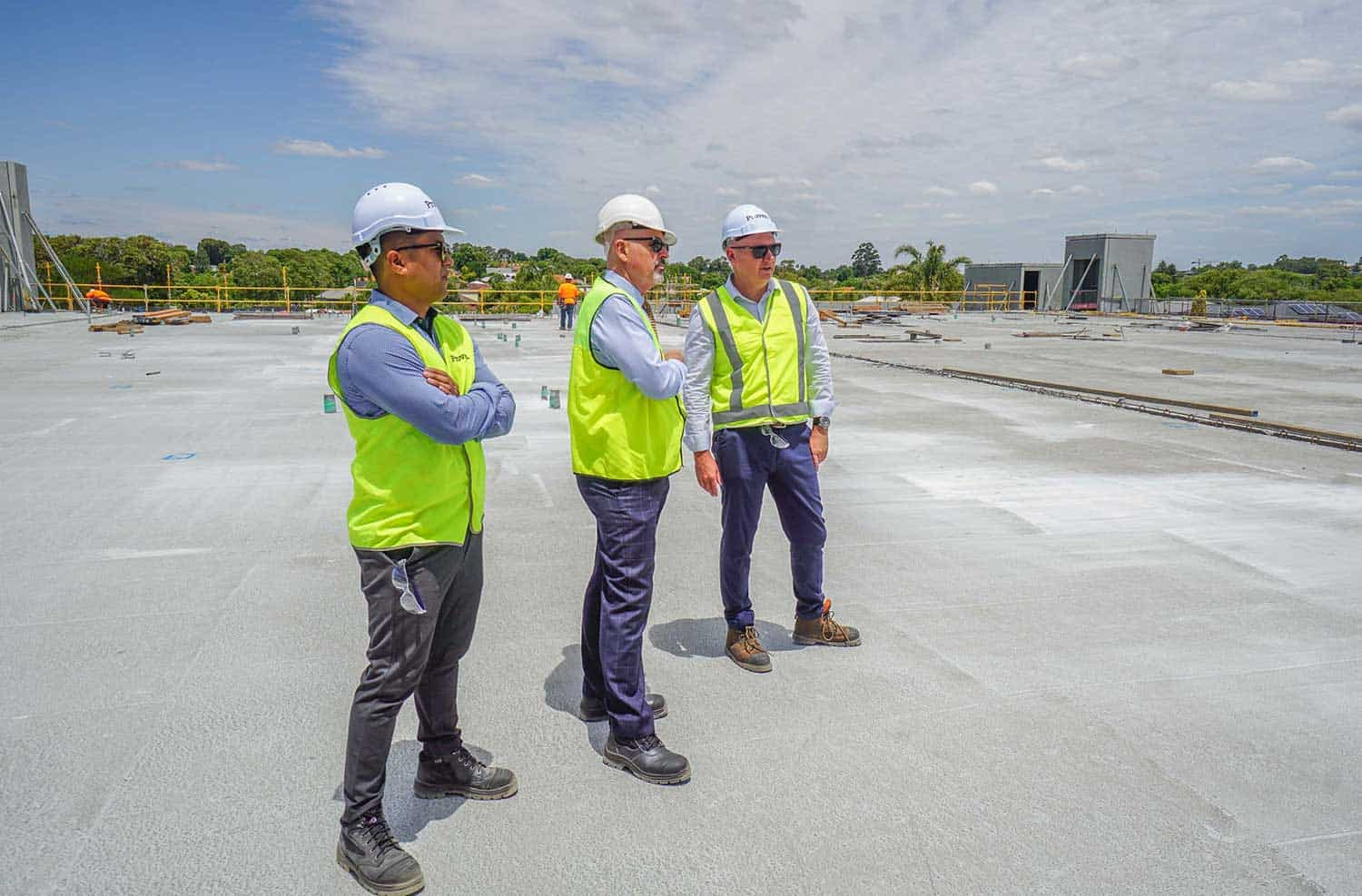 Project Managers at Woolworths Mt Pleasant