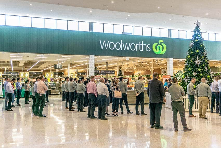 Woolworths Butler opening ceremony