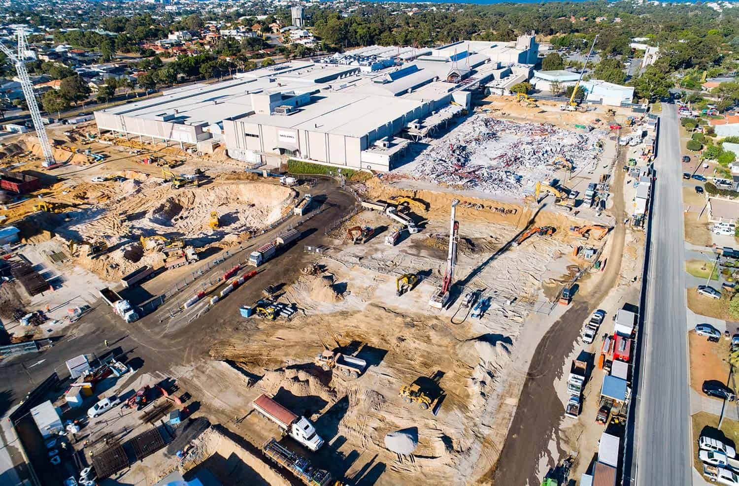 Karrinyup Aerial dron picture construction