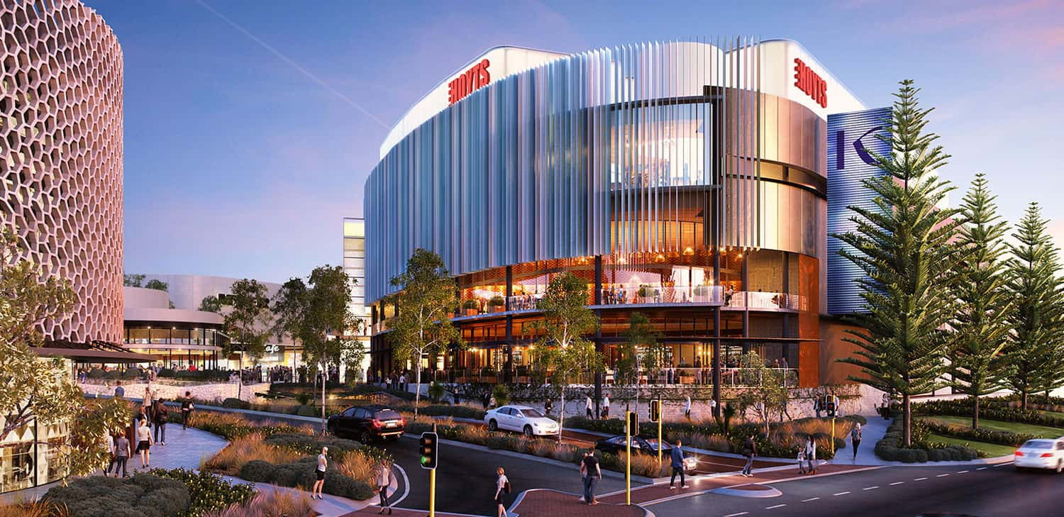 Render Karrinyup Shopping Centre